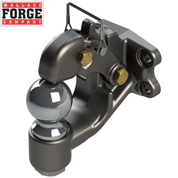 10t Heavy Duty Magnum Dual Purpose Rigid Hook, ADR Approved - Wallace Forge